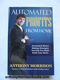 Anthony Morrison books present the reader with an entertaining and informative read covering the highlights of Anthony Morrison's life story