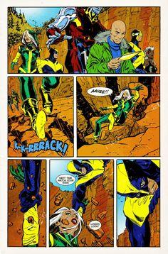 Joe Quesada shares X-MEN comic page which appears in final LOGAN trailer.