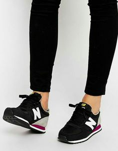 26ca55ef1003c Nb Trainers, Black Trainers Outfit, Shoes Trainers Nike, Running Trainers,  Suede Trainers