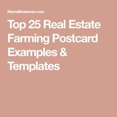 Top 25 Real Estate Farming Postcard Examples & Templates Postcard Examples, Farming, Real Estate Postcards, Create Name, Templates, Top, Role Models, Spinning Top, Template
