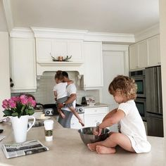Family Life with Kids in the Kitchen