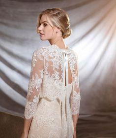 ORINOCO - Brautkleid im Meerjungfrau-Stil mit tief angesetzter Taille