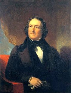 Nicholas Biddle by William Inman, c. 1830s. Biddle - a friend of Napoleon's brother, Joseph Bonaparte - was a prominent Philadelphia lawyer, politician, man of letters, gentleman farmer and the president of the Second Bank of the United States. He came to ruin in the 1830s Bank War with President Andrew Jackson.