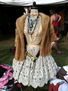 Vintage Dress Form all Dressed to Impress!