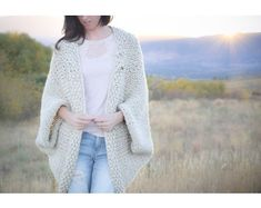 Knit Kit - The Easy Knit Blanket Sweater