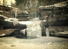 Upper Falls Old Man's cave HockingHills Ohio