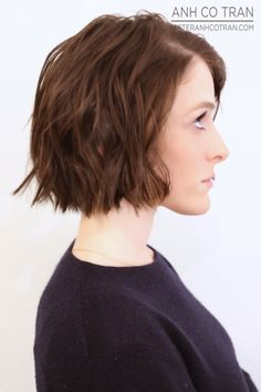 SHORT HAIR SATURDAY! Cut/Style: Anh Co Tran • IG: @anhcotran • Appointment inquiries please call Ramirez|Tran Salon in Beverly Hills at 310.724.8167.