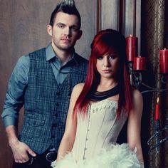 Seth Morrison & Jen Ledger // Skillet<<<<<<<<< JETH! I SHIP IT HARD!!!!