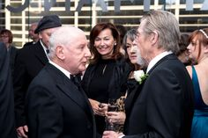 The Will Awards to Stacy Keach, Dame Diana Rigg and John Hurt: The occasion was the William Shakespeare Award for Classical Theatre to John Hurt, Stacy Keach and  Diana Rigg as well as the Sidney Harman Award for Philanthropy in the Arts: The Beech Street Foundation chaired by Meg and John Hauge and Suzanne and Glenn Youngkin at The Harman Center for the Arts.