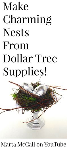 Craft Tutorials, Craft Projects, Projects To Try, Craft Ideas, Bird Cage Centerpiece, Easter Crafts, Easter Ideas, Nifty Crafts, Seasonal Decor