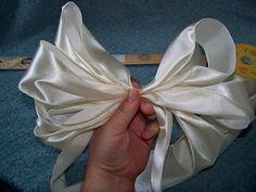 pew bows diy