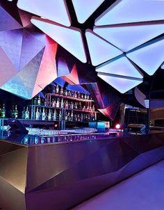 Vondom Fiesta Barra Curva Bar Theke Lounge Rund | Beleuchtete Gartenmöbel |  Pinterest | Fiestas And Bar