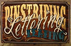 Pinstriping / Lettering / Leafing by Marius Mellebye / 276ccm, via Flickr