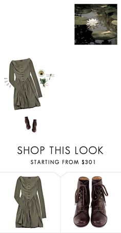 """""""Small Lily Pond"""" by graywil ❤ liked on Polyvore featuring Vivienne Westwood Anglomania, Chie Mihara and Old Navy"""