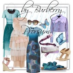 Burberry by anny-taran on Polyvore featuring мода and Burberry