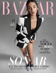 Magazine Cover Page, Fashion Magazine Cover, Fashion Cover, Fashion Shoot, Editorial Fashion, Fashion News, Fashion Outfits, Harper's Bazaar, Elle Magazine