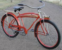 post war vintage schwinn bike | sales away from the bicycle giant arnold schwinn bicycles this ...