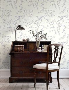 Wallpaper Inspiration: Spring Branches by Tapet Cafe