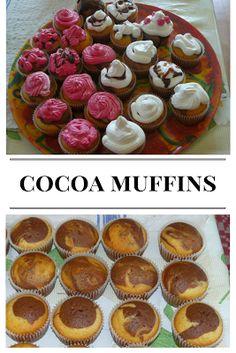Cocoa muffins - easy recipe