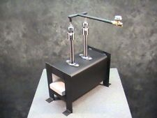 Atlas Mini Forge - propane knifemaking forge w/ BTU burner and regulator Gas Forge, Propane Forge, Iron Forge, Blacksmith Hammer, Blacksmith Shop, Homemade Forge, Homemade Tools, Forge Blower, Mini Forge