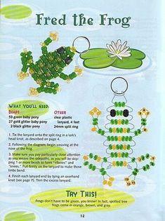 А вот ниже можете прочитать, как сделать объемную лягушку из бисера.  Чтобы сплести лягушку из бисера вам понадобится...