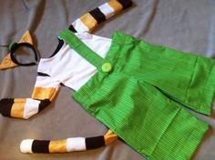 """Kostüme für Kinder - """"KATER mit HOSE"""" Kostüm Fasching Karn... - ein Designerstück von Saminis bei DaWanda"""