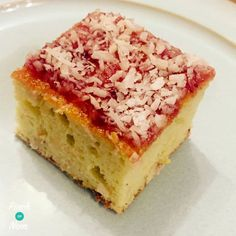 Slimming World - Jam and Coconut Sponge