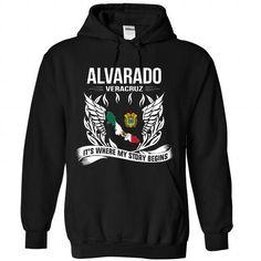 ALVARADO - Its Where My Story Begins! - #gifts for boyfriend #groomsmen gift. HURRY => https://www.sunfrog.com/No-Category/ALVARADO--Its-Where-My-Story-Begins-4557-Black-Hoodie.html?68278
