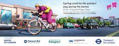 Výsledek obrázku pro london olympic traffic promotion