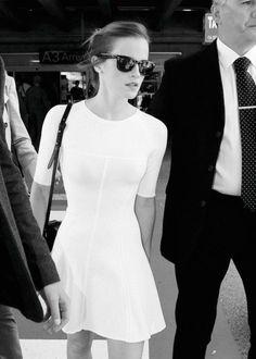 Emma Watson in white