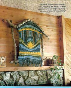 Weaving on Driftwood Looms Weaving Pattern by grammysyarngarden