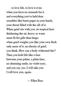Such beautiful words. I read it over and over again.
