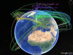 Interactive 3D Genealogy Explorer using Google Earth