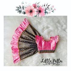 Little Pattu (Toronto, Canada) ( Kids Party Wear Dresses, Kids Dress Wear, Dresses Kids Girl, Kids Frocks Design, Baby Frocks Designs, Baby Girl Dress Patterns, Baby Dress Design, Baby Girl Frocks, Frocks For Girls