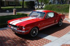 1965 Ford Mustang Custom fastback..
