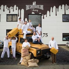 #The Chocolate Line Brugge, Antwerpen goes international. Which is your favourite taste ? # Dominique Persoone
