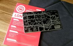 INFMETRY:: Subway Map & Mirror Card - Home&Decor