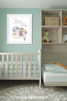 Digital art prints for a child's room #owl #art #child #bedroom #print #decor #wallart Keepsake Baby Gifts, Bedroom Art, Kids Room, Owl Art, Child's Room, Art Prints, Children, Digital Art, Furniture