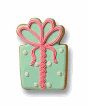 present gift cookie #christmas #foods @shahsocialmedia