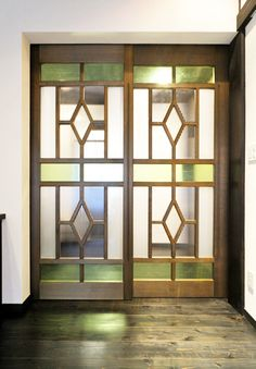 Stained Glass, Windows, Doors, Interior, House, Furniture, Home Decor, Google, Homemade Home Decor