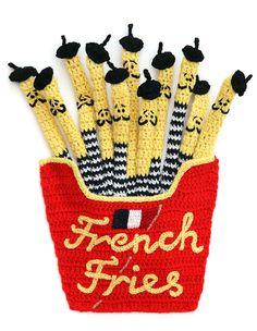 """French Fries"" | 31 Works Of Art We Can All Appreciate  Pin by www.alejandrocebrian.com www.pinterest.com/alejandrobox/"