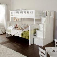 Columbia Twin over Full Stairway Bunk Bed Image 2