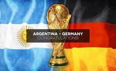FELICITACIONES ARGENTINA Y ALEMANIA por llegar a la FINAL del FUBTOL MUNDIAL BRASIL 2014... Suerte y que gane el mejor!! http://1502983.talkfusion.com/products/