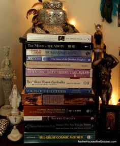 13 Must Read Books on the Sacred Feminine and Goddess Spirituality Book from MotherHouse of the Goddess