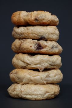 Chocolate Chip Bagels OMG what wouldnt i give to have one right now..