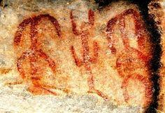 Pintura rupestre de la Quebrada de Ablomé