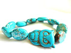 Turquoise... owl? Yes, please! :)