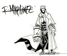 hellboy sketch by ~RM73 on deviantART