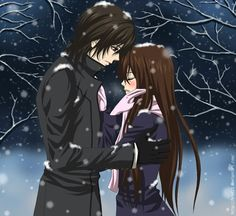 omg its vampire knight who loves it other than me