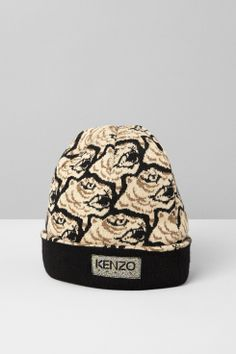 c5283a33eda Kenzo Knitted Hat  amp  Tiger - Kenzo FW13 Accessories Men - Kenzo E-shop